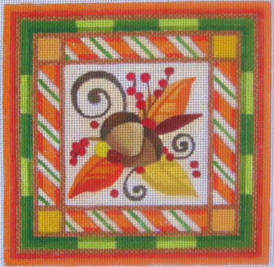 Autumn Berries - BeStitched Needlepoint