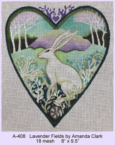 Lavender Fields Heart