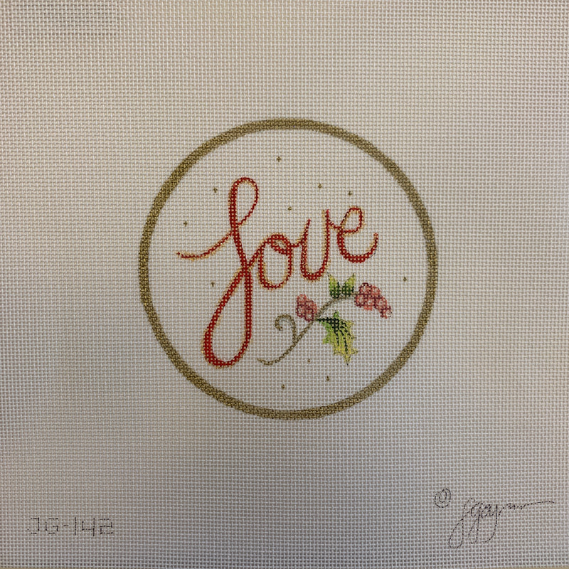 JG-142 - Love Ornament