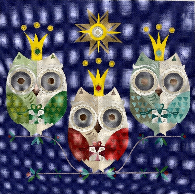 Three Wise Owls 18M