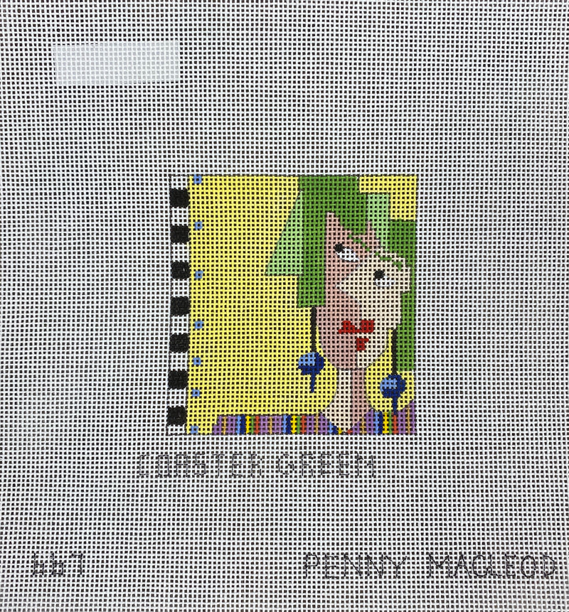 Penny Macleod:PM667 Coaster Green 3x3 18M