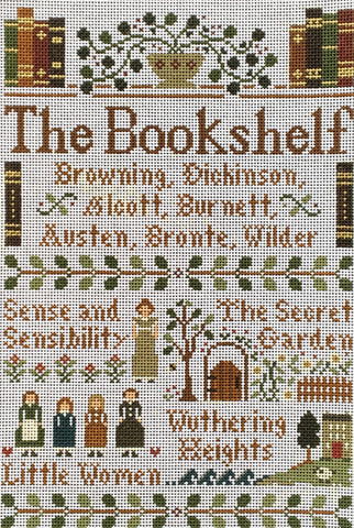 Book Shelf©Little House Needleworks