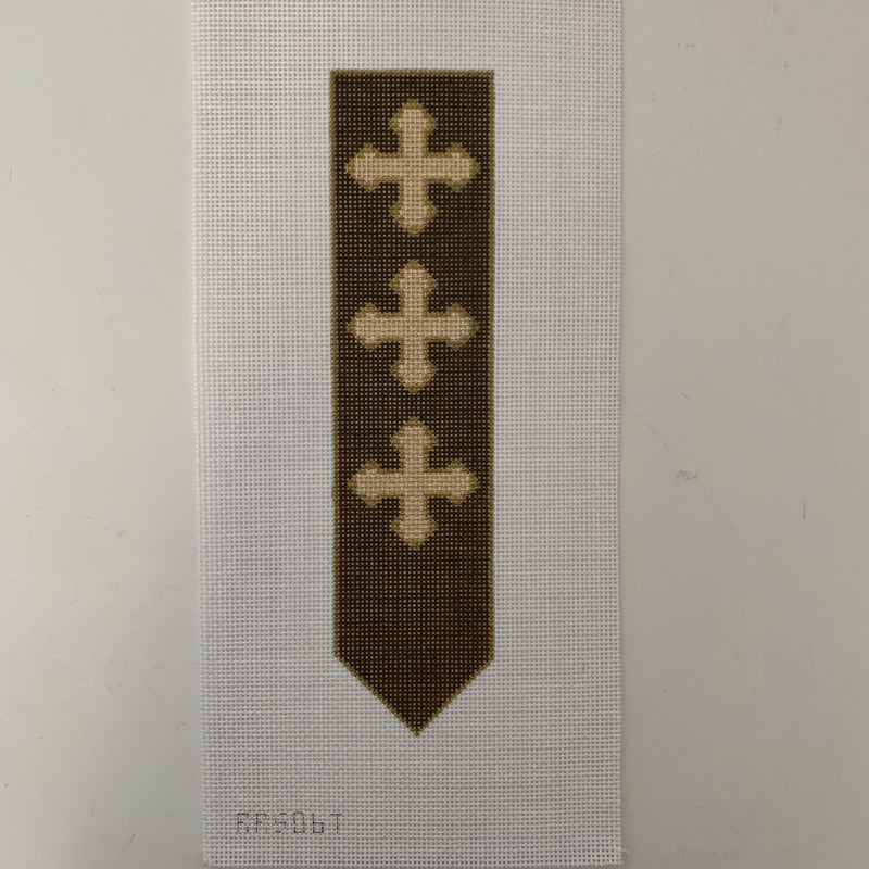 RRS06T Brown Bookmark
