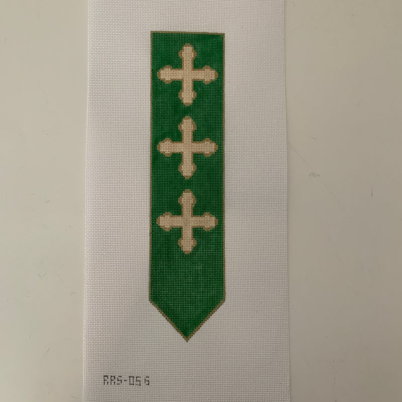 RRS05G Green Bookmark