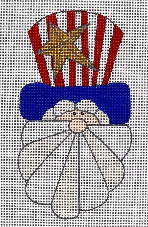Star Spangled Santa with Stitch Guide