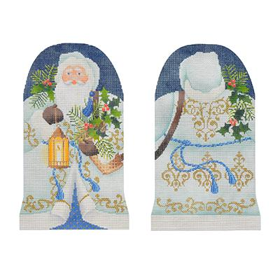 Two-Sided Woodland Father Christmas