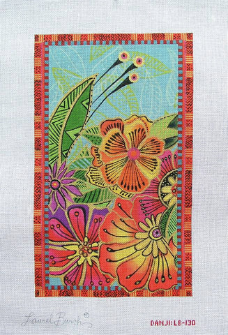 Tropical Floral - BeStitched Needlepoint