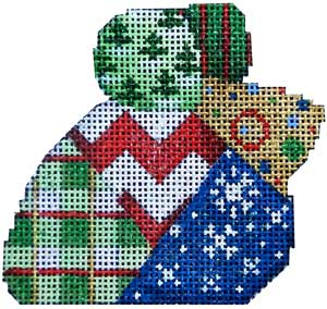 Chevron Patch Xmas Mouse