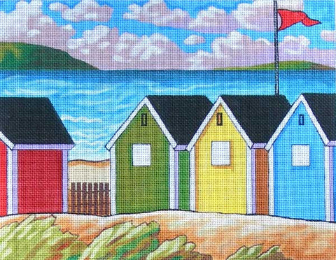 Windy Seaside Huts