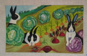 Bunnies - BeStitched Needlepoint