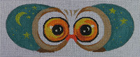 Owl Eye Mask - BeStitched Needlepoint
