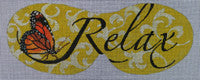 Relax Eye Mask - BeStitched Needlepoint
