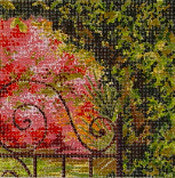 Garden Gate - BeStitched Needlepoint