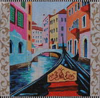 Gondola/Venice - BeStitched Needlepoint