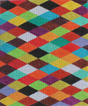Harlequin Pattern - BeStitched Needlepoint