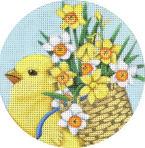 Spring Chick Ornament