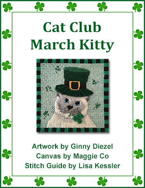 Cat Club March Kitty - Stitch Guide