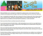 """Oz Girls"" Digital Class Resources - Stitch Guide + Tutorial Vids"