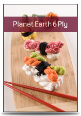 Planet Earth 6ply Silk