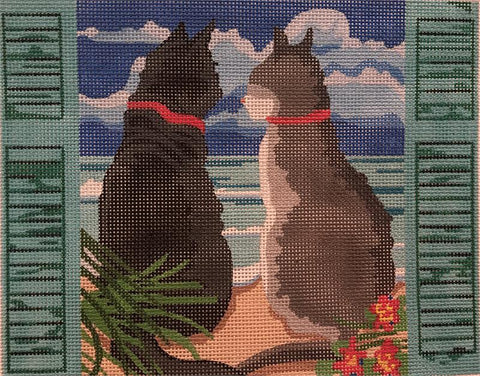 Cats Visiting the Sea