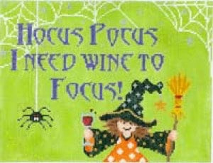 Hocus Pocus I Need Wine to Focus