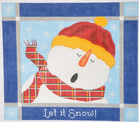 """Let it Snow"" Snowman"