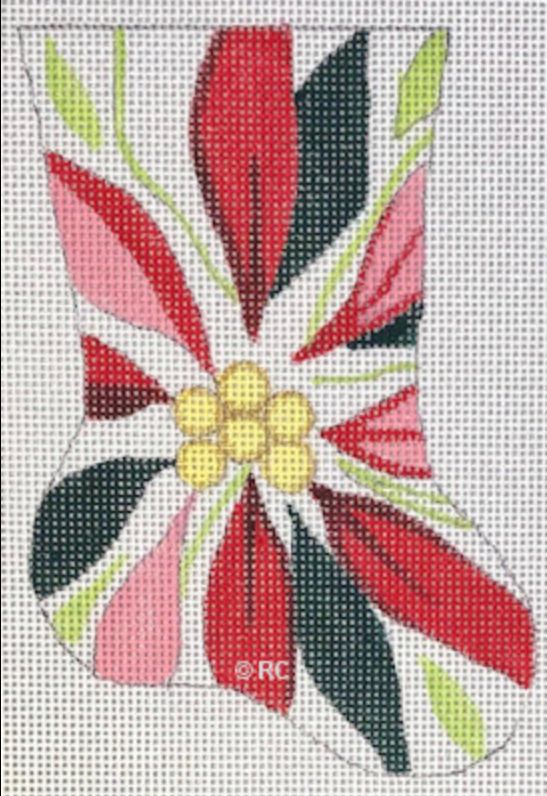 HO1986 - Poinsettia Mini Sox