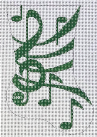 HO1993 - Green Music Mini Sox
