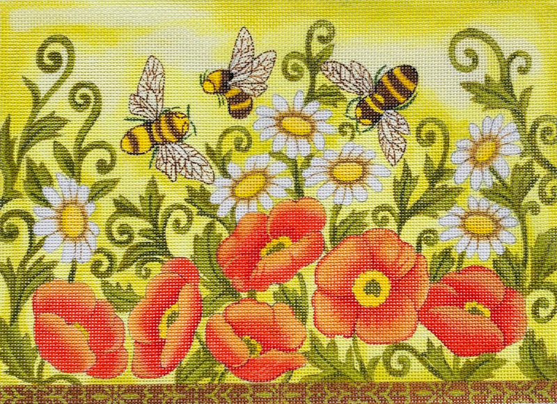 Bees and Wild Flowers