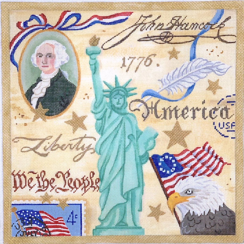 PL-433 - Collage – Historic Independence Day