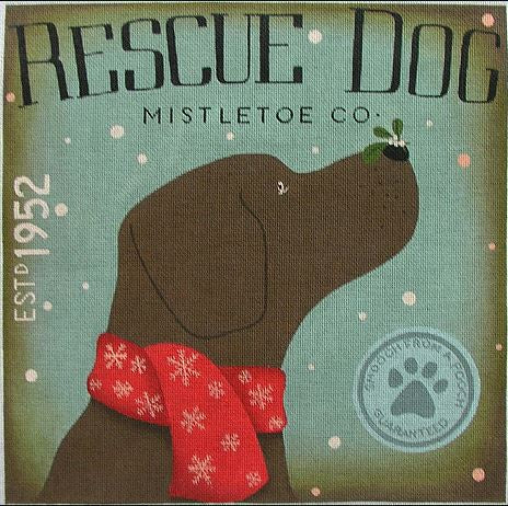 Rescue Dog Mistletoe Company