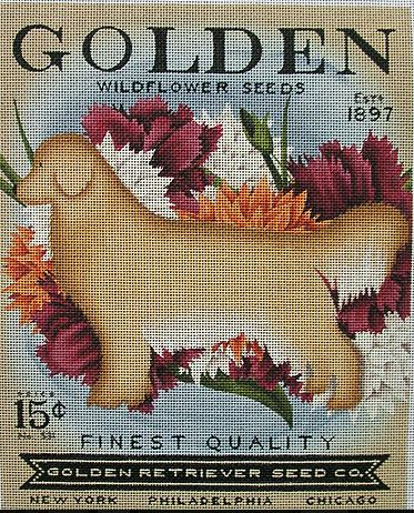 Golden Wildflower Seeds