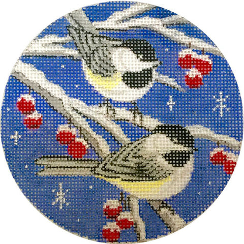Birds on Blue Sky Ornament