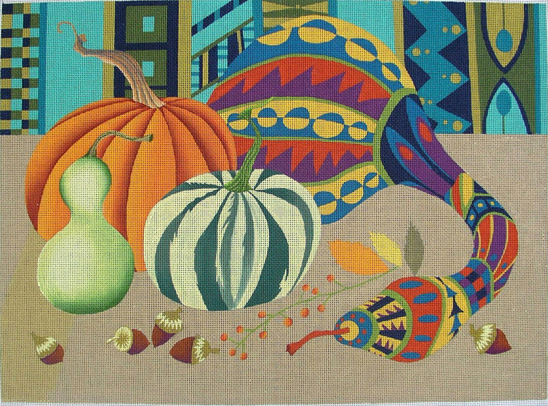 Fancy Gourds - BeStitched Needlepoint