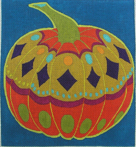 Pumpkin - BeStitched Needlepoint
