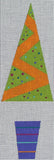 Orange tree ornament w/ ribbon & Felt balls (with SG)
