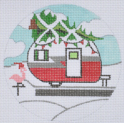 Christmas Campervan Ornament