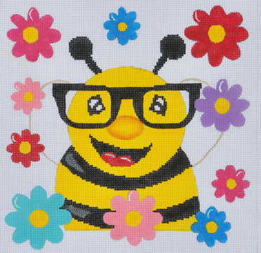 ZIA-100 - Bee with Glasses