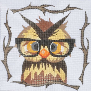 Owl with Glasses