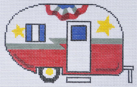 Fourth of July Camper Van