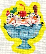 3 Scoops Shaped Ornament ab194