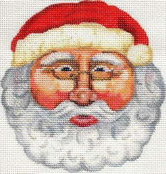 Old World Santa Face