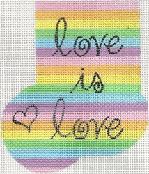 Love Is Love Mini Sock