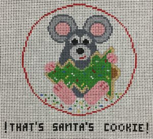 That's Santa's Cookie!