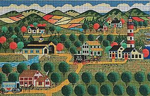 Apple Cove - BeStitched Needlepoint