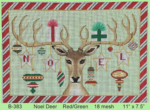 Noel Deer Red/Green