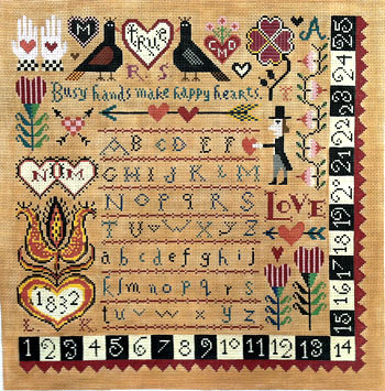 Happy Hearts Sampler
