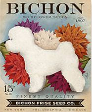 Bichon Frise Wildflower Seeds