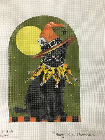 Black Cat - BeStitched Needlepoint
