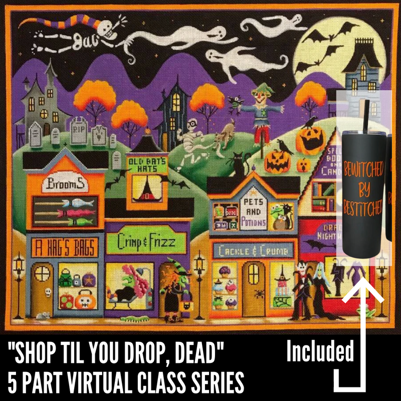"""Shop til you Drop, Dead"" 5 Part VIRTUAL Class Series"